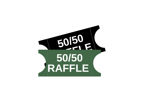 50/50 Raffle Tickets (x5)