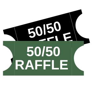 50/50 Raffle Tickets (x5)